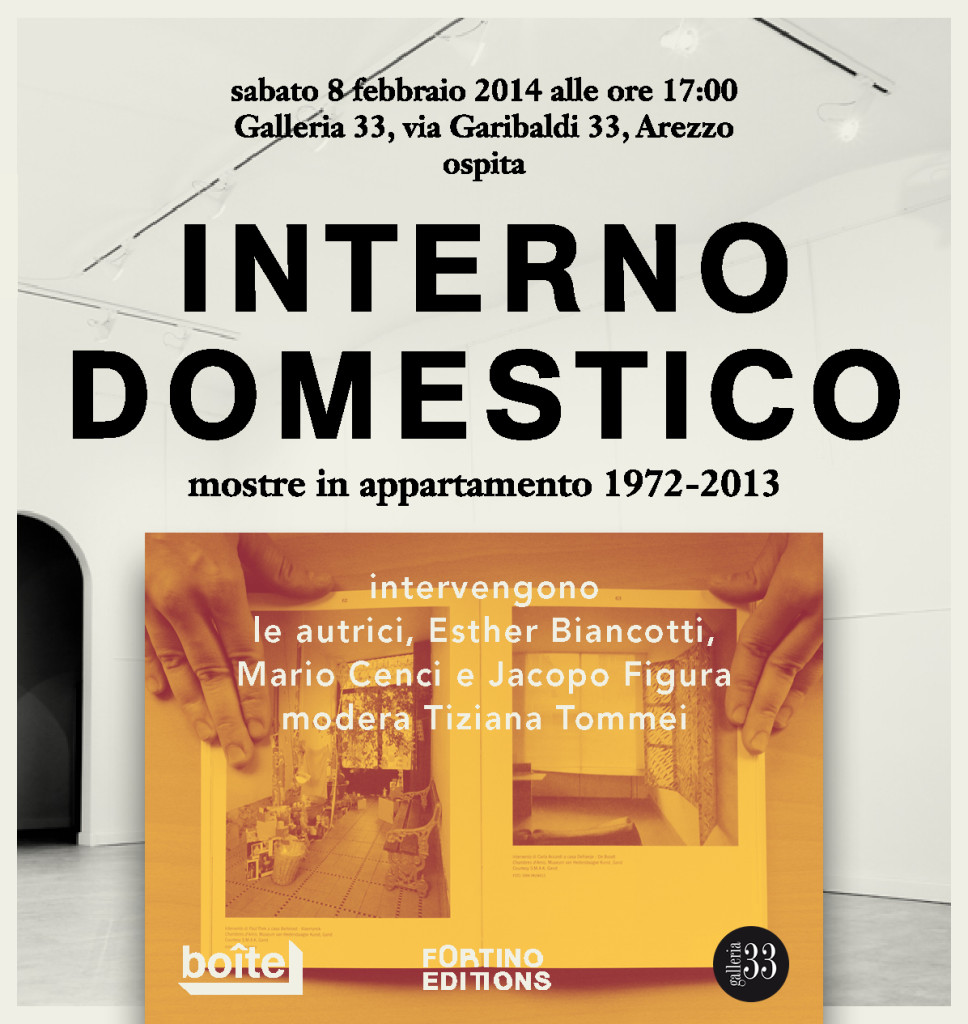 Invito a Interno Domestico. Mostre in appartamento 1972-2013